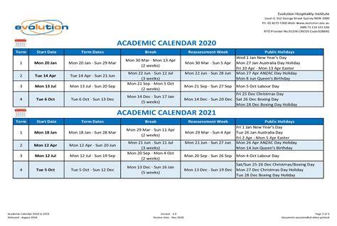 education qld calendar     education