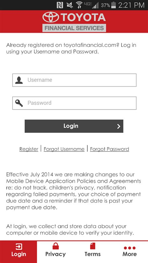 Toyota Financial Payment Login by Apk Toyotafinancial Payment