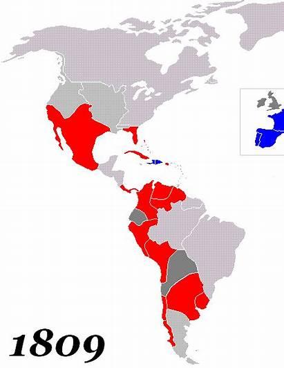 America Latina Desde Mapas Mapa Siglo Animado
