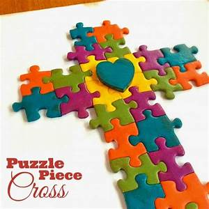 34 Amazing Puzzle Pieces Craft Ideas