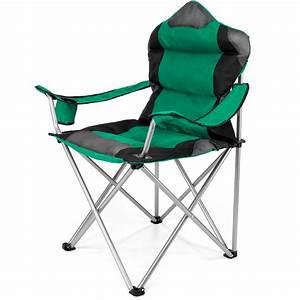 Chaise Camping Pliante : tresko chaise de camping housse pliante et transportable ~ Melissatoandfro.com Idées de Décoration