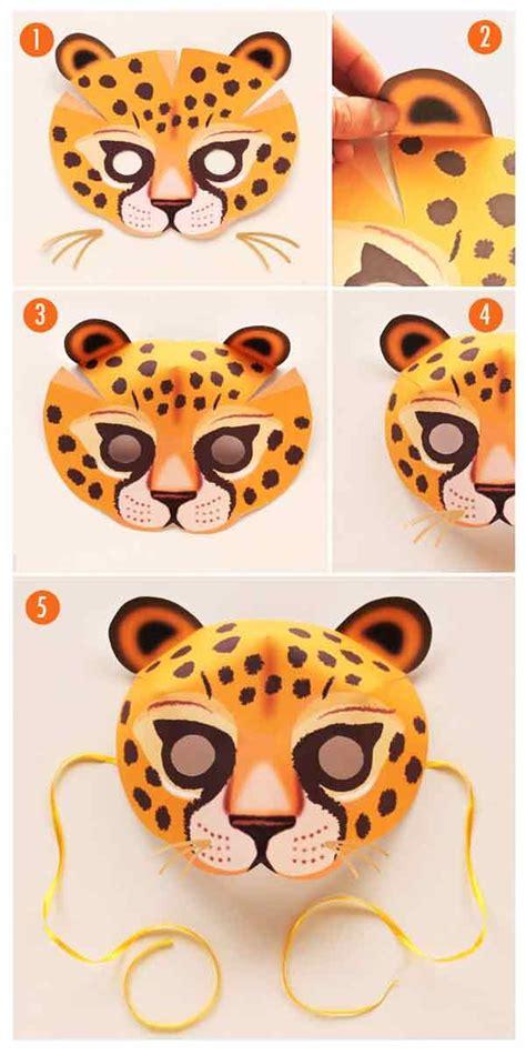leopard mask   costume   learn