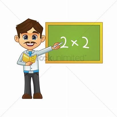 Teacher Male Vector Clipart Clip Teaching Teachers