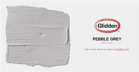 pebble grey paint color glidden paint colors
