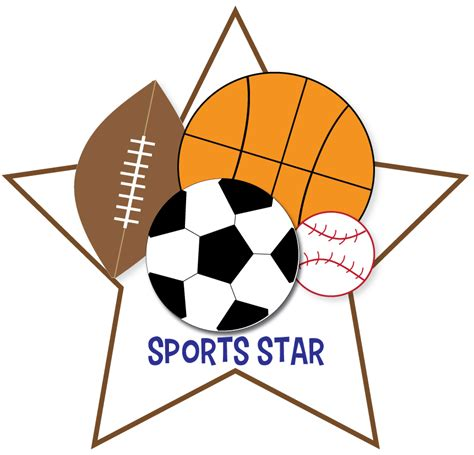 Free Sports Clipart For Parties, Crafts, School Projects