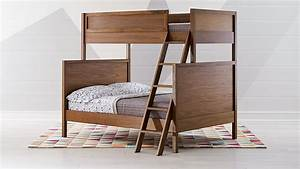 Taylor, Twin, Over, Full, Walnut, Bunk, Bed