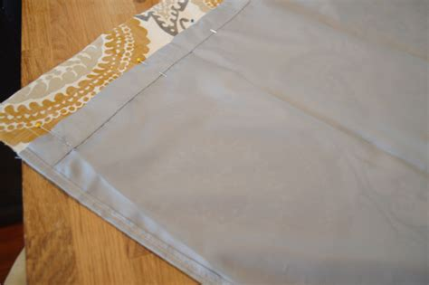 making lined cafe curtains  large curtain panels