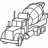 Coloring Truck Pages Fire Police Cars Dump Mewarnai Mobil Molen sketch template