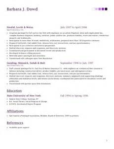 ip litigation paralegal resume resume of barbara j dowd