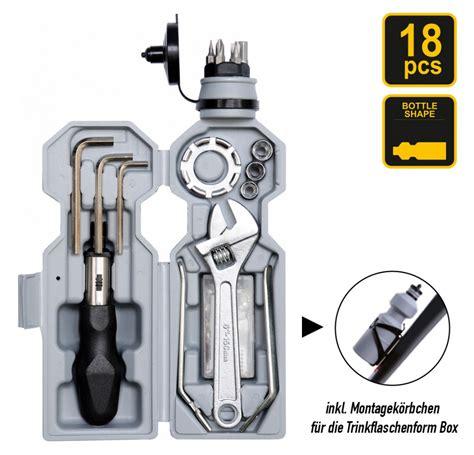 fahrrad werkzeug set 18 tlg fahrrad reparatur werkzeug set in trinkflaschenform