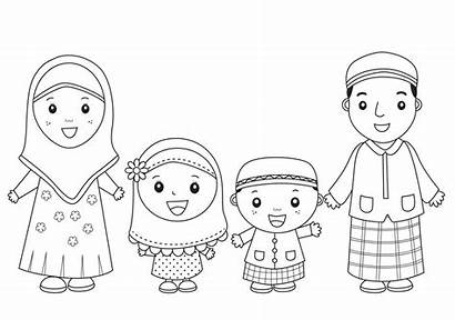 Gambar Untuk Kartun Islami Diwarnai Anak Mewarnai