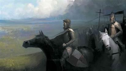 Crusader Medieval Fantasy Kings Knight Fighting Warrior
