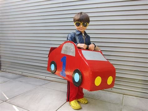The Person To Make A Car by How To Make A Cardboard Car Costume Ehow