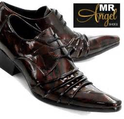 Fancy Brown Dress Shoes Men