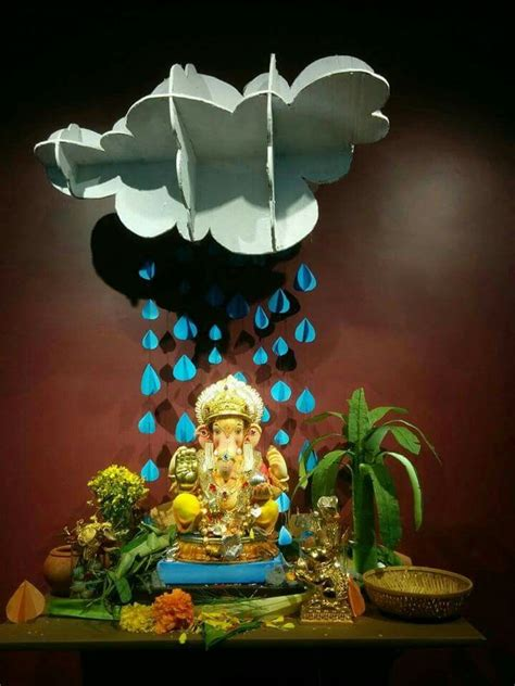 52 best about ganapati deco on paper