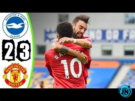 [Highlights] Premier League - Brighton vs Man United 2-3 ...