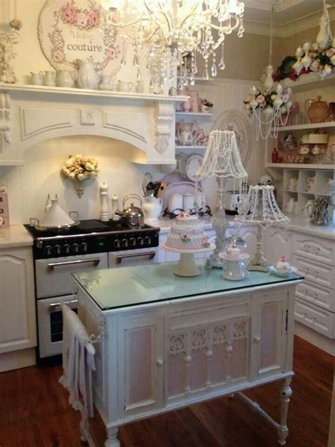 sweet shabby chic kitchen ideas