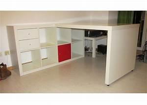 Ikea Regal Einsätze : ikea kallax regal mit schreibtisch m bel ~ Markanthonyermac.com Haus und Dekorationen