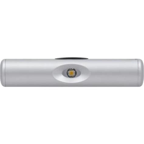 sylvania led silver wireless linear task light 72476 the