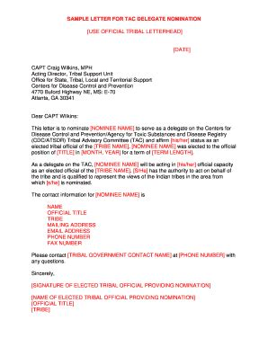 sample letter  indian government official printable