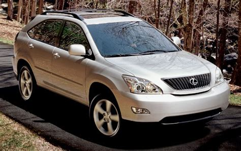 Maintenance Schedule For 2007 Lexus Rx 350