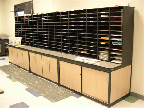 Office Mail by Mail Room Systems Mail Center Work Room Olpin