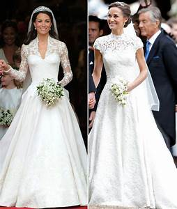 pippa middleton wedding dress v kate middleton wedding With pippa middleton s wedding dress