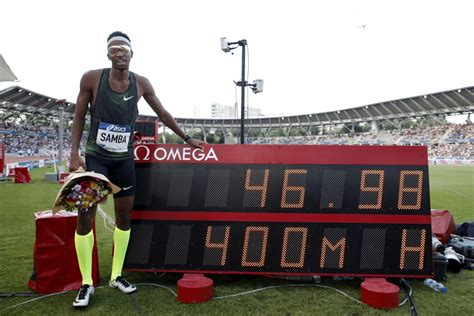 Sambam otrais visu laiku labākais rezultāts 400 metros ...