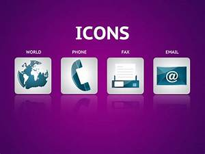 Contact icon vector pack Vector | Free Download