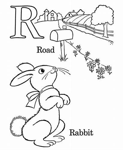 Coloring Alphabet Preschool Letter Printable Popular Abc
