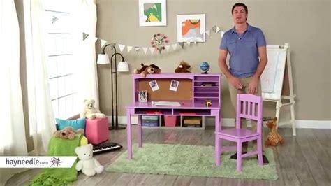 Guidecraft Desk by Guidecraft Media Desk Chair Set Lavendar Product