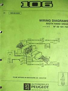 Peugeot 106 Wiring Diagram Manual 368 92 Listing In