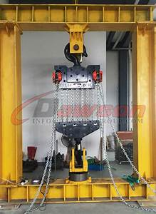 50t  60 Ton New Design Chain Hoist  Chain Block For Wharf