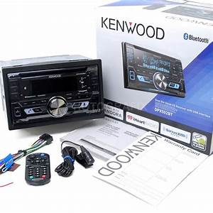 Kenwood Double Din Bluetooth Cd Player Usb  Aux Car Radio