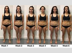 Weight loss transformation diaries week six Vanessa uses