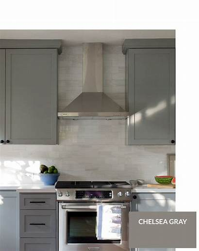 Paint Gray Cabinet Colors Cabinets Kitchen Grey