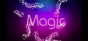 How to Create a neon light text effect shop CS3 or