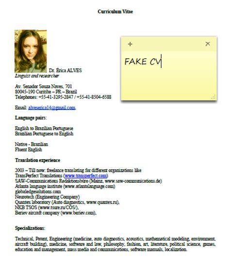 alatraduz anas words fraud fake cv dr erica alves