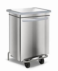 Poubelle De Tri Cuisine : poubelle cuisine inox haccp car n e 70 litres ~ Dailycaller-alerts.com Idées de Décoration