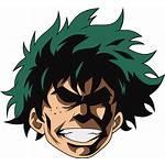 Deku Discord Emoji Academia Hero Anime Might
