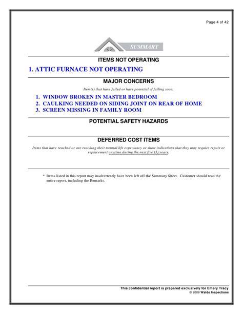 bedroom attic sample report denver home inspection waldo home inspection