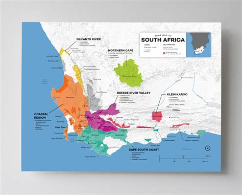 Updated! Wine Maps Of The World