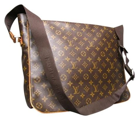 louis vuitton monogram abbesses messenger brown messenger