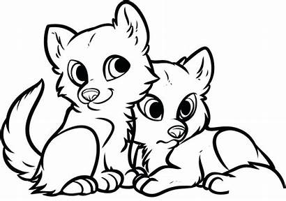 Coloring Animal Pages Foxes