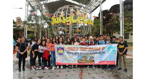 field trip to jungleland smpk smak bpk penabur sukabumi