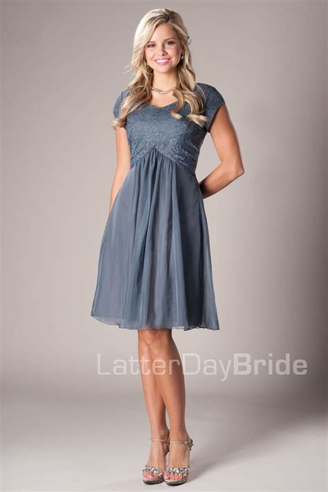 Carissa Modest Mormon LDS Bridesmaid Dress. This is so