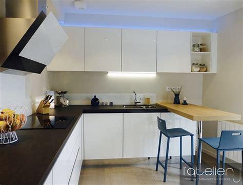 cuisine fonctionnelle plan cuisine épurée et fonctionnelle design conception