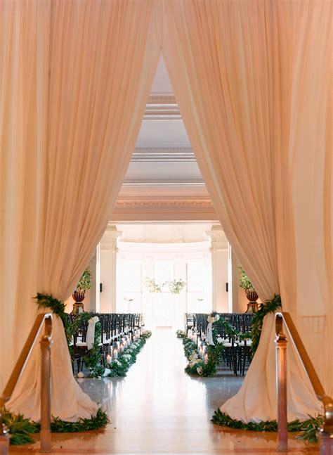 wedding decor draping