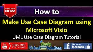 How To Make Use Case Diagram Using Microsoft Visio