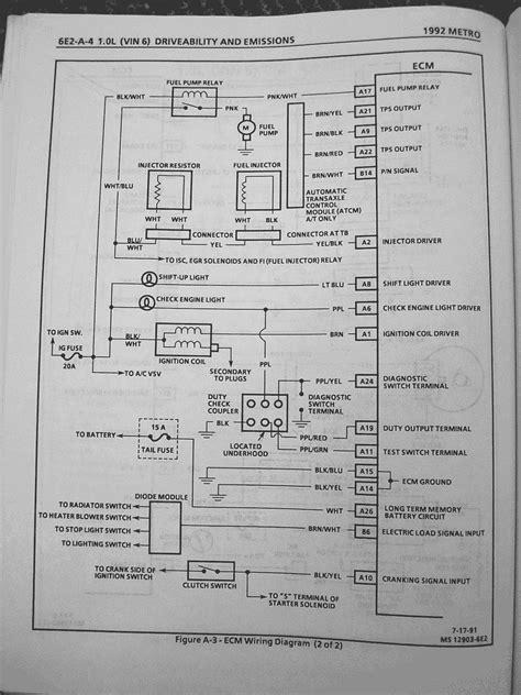 Geo Metro Suzuki Swift Wiring Diagrams Metroxfi